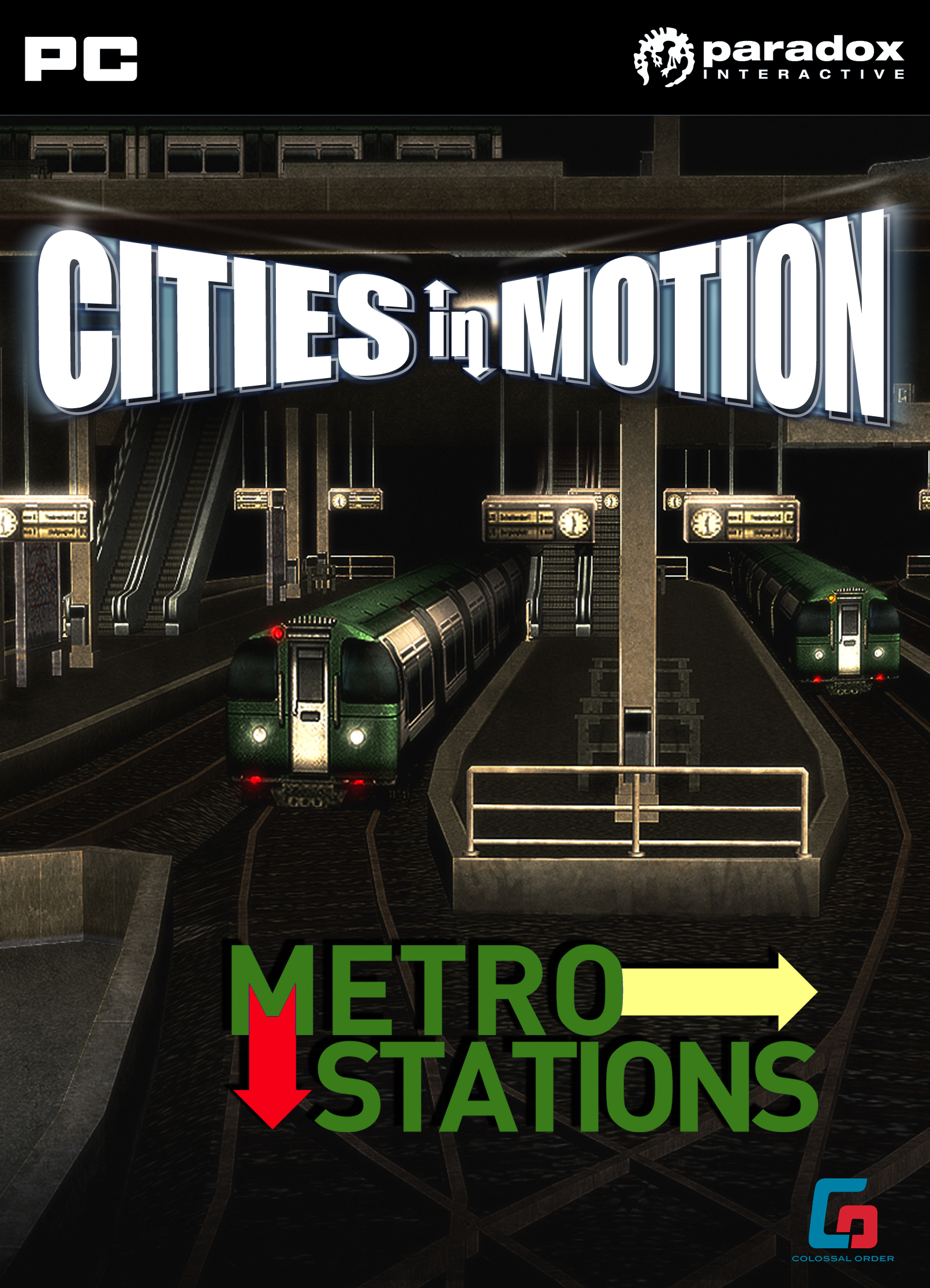 cities in motion metro station dlc