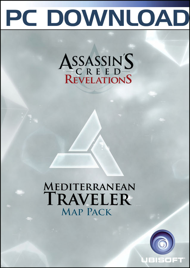 assassins creed revelations mediterranean traveler maps pack