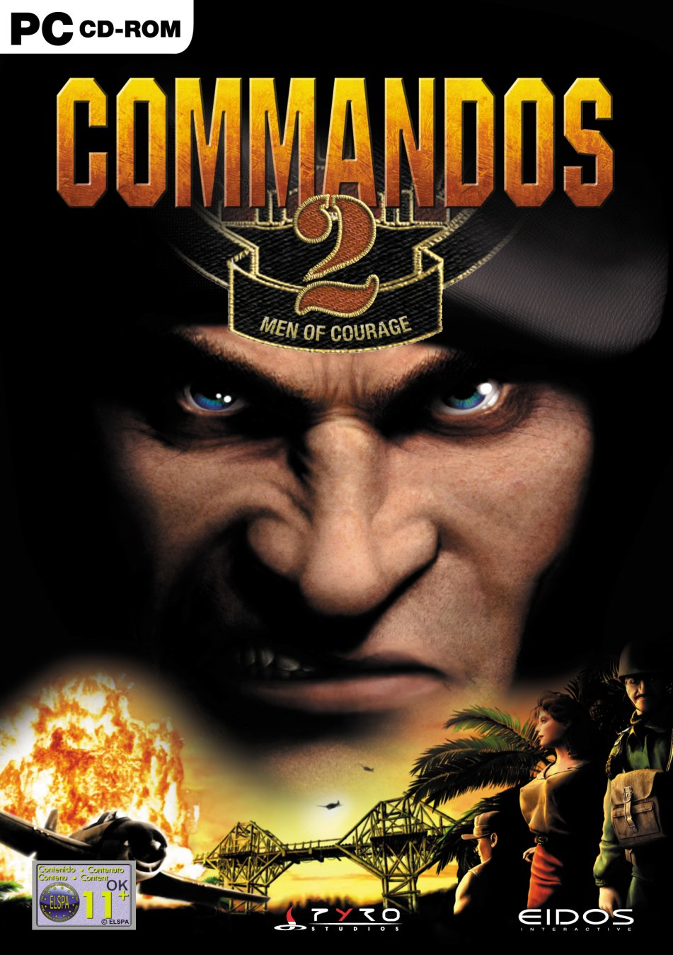 commandos ii men of courage