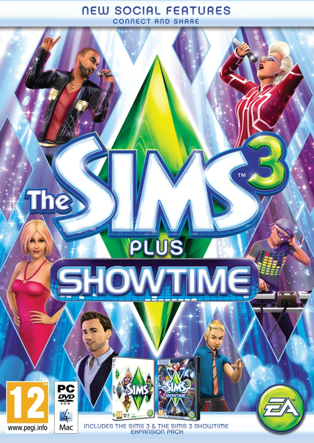 the sims 3™ plus showtime