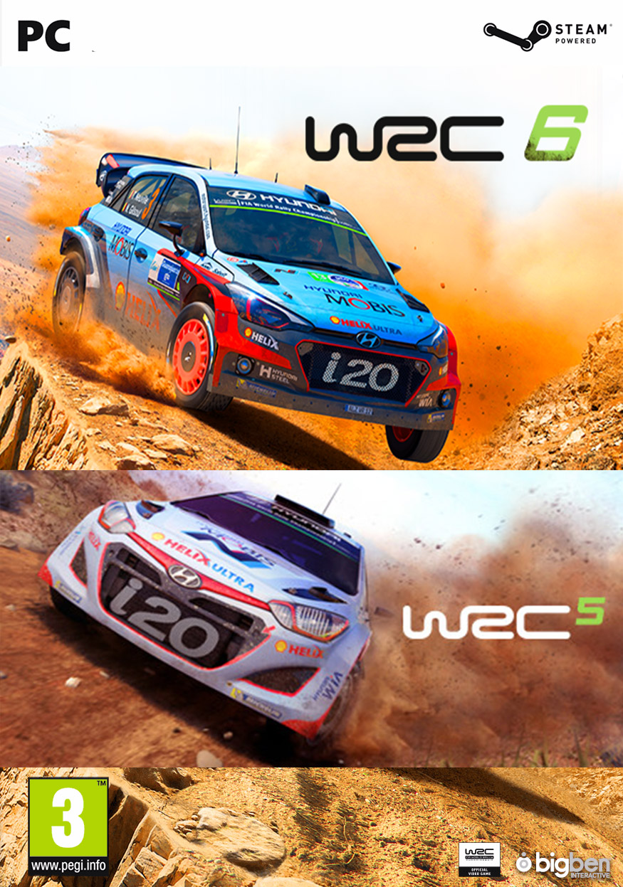 FIA World Rally Championship Bundle - WRC 5 + WRC 6