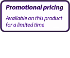 Promotional pricing - available for a limited time only!